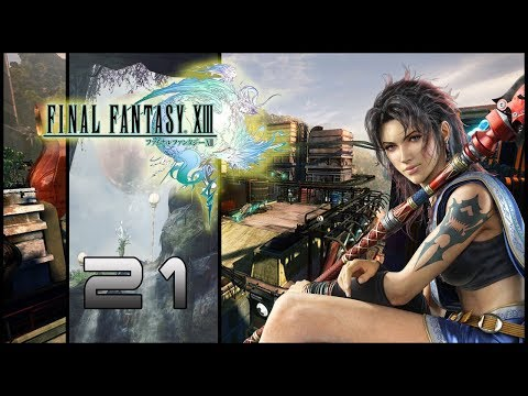Guia Final Fantasy XIII (PS3) Parte 21 - Las Lu'Cie del Gran Paals