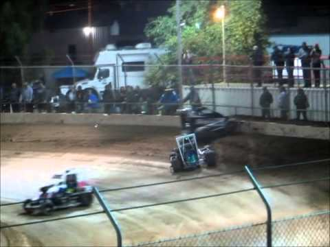 Micros Wingless Part 1 @ Delta Speedway 10 25 14