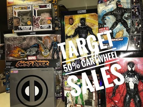 EP41- Target 50% Off Cartwheel/ Ghost Rider Motorcycle Ultimate Toy Vehicle/ Mezco X-Force DeadPool