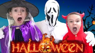 Halloween songs and stories Compilation by Ulya I Trick or Treat for kids