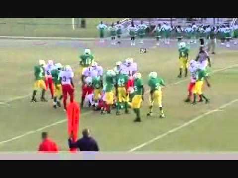 Marcus Hawkins football vs Ruffner Middle School