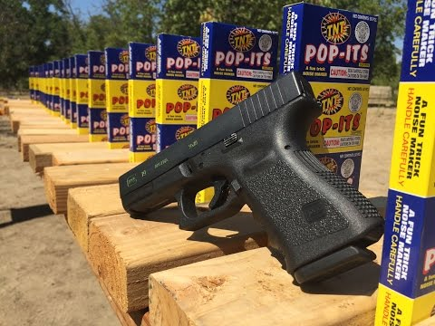 GLOCK 19 VS TNT  POP-IT