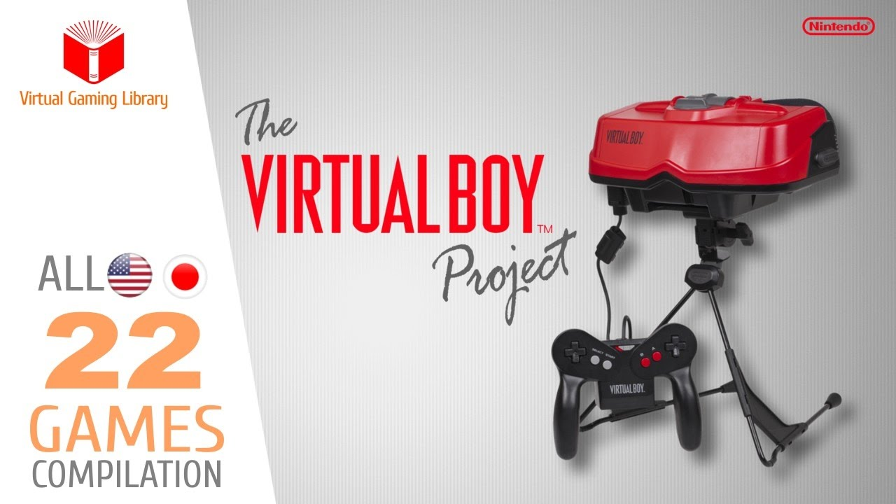 The Virtual Boy Project - All 22 Games - Every Game (US/JP)