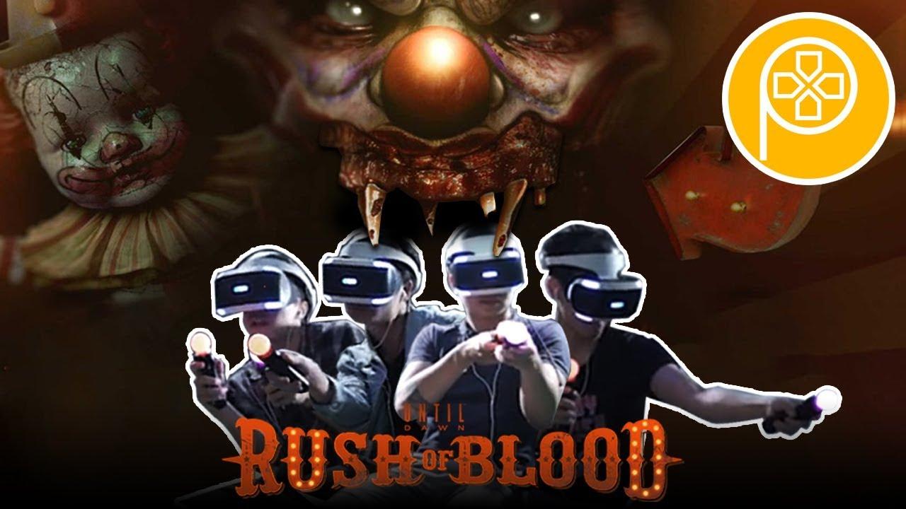 UNTIL DAWN: RUSH OF BLOOD - Trải nghiệm game KINH DỊ thực tế ảo cùng Phê Team