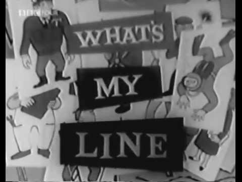 What's My Line? BBC - Eamonn Andrews, host - Rare complete episode! (Oct 5, 1957)