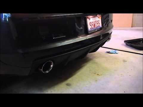 "MBRP 3/"" Installer Series Axle-Back Exhaust for 2010-2015 Camaro 6.2L V8 S7019AL"