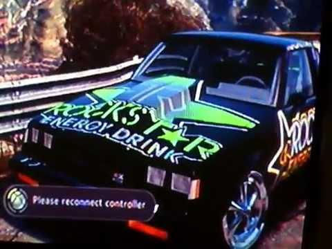 Forza buick rockstar energy logo
