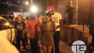 50 Cent, La La & Carmelo Anthony, Rotimi & Omari Hardwick in NYC
