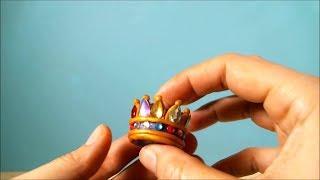 корона из пластилина