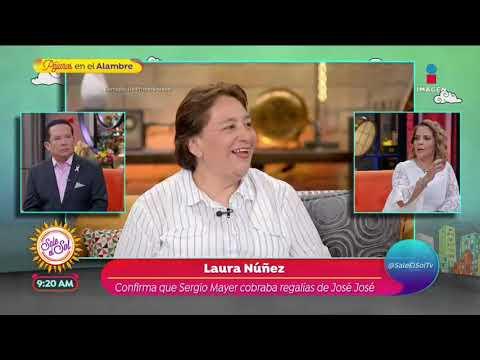 Laura Núñez asegura que Sergio Mayer cobraba regalías de José José | Sale el Sol