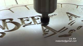 1218 cnc router v bit work on mdf china cnc router
