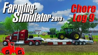 Farming Simulator 2013: Chore Log 9 - Farmin