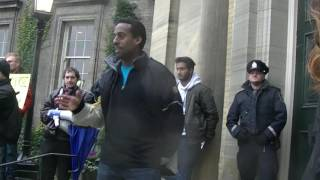 mcmaster student speaks at university of toronto free speech rally