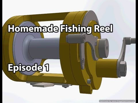 homemade-fishing-reel-episode-1:-lever-drag-design