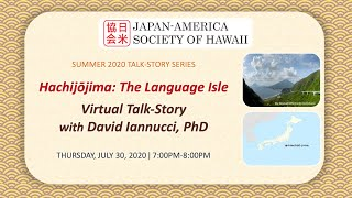 Hachijojima: The Language Isle