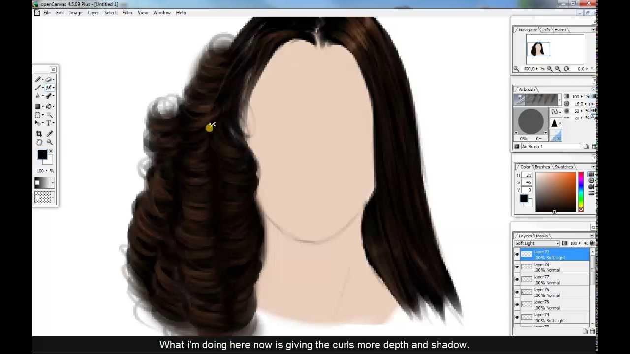 IMVU -- TUTORIAL: how i create curly-straight hair