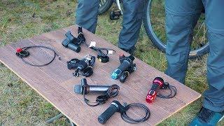 Масур, Палцова газ или Педал Асист за нашия електрически велосипед //OFER