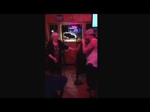 Grandma Raps Cash Money Song At Karaoke Bar
