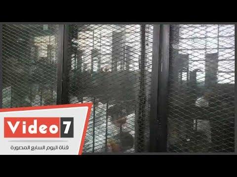 شاهد رد فعل المحكوم عليهم بالإعدام فى قضية - اغتيال النائب العام-  - 12:22-2017 / 7 / 22
