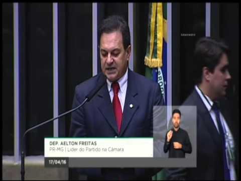 PR Apoia Governo E Líder Indica Voto Contra Impeachment De Dilma