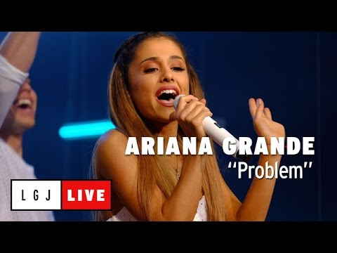 Ariana Grande - Problem - Live du Grand Journal