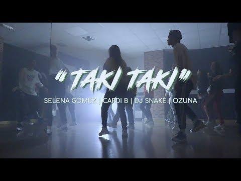 TAKI TAKI - DJ Snake, Cardi B, Ozuna & Selena Gómez | Cris Sanabria & Sofi Pulgar CHOREO