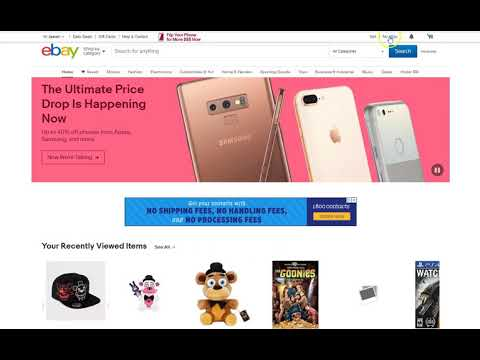 How To Clear Your Ebay Browsing History Youtube