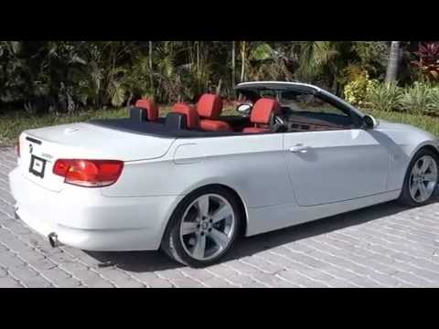 Used 2007 BMW 335i Convertible Coconut Creek FL - YouTube