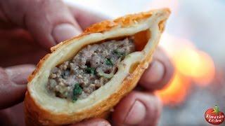 Best Cheburek Ever! - Super Food Cooked Outside!