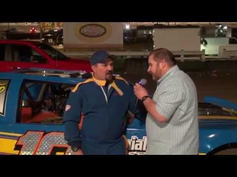 Nick Kocuba, Sportsman winner, 5/2/15 at Pittsburgh's PA Motor Speedway