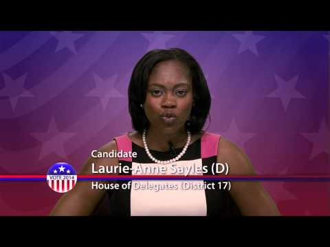 Laurie-Anne Sayles (D), Candidate for Maryland House of Delegates  District 17