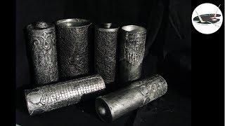 Jak wykonać pojemniczek imitujący stare srebro - Pomysły plastyczne dla każdego