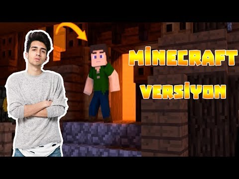Sensin Benim En Derin Kuyum Minecraft Versiyon #1 w/Çağatay Akman