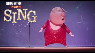Sing Special Edition - Rosita & Gunter Cheer Up Ash - Own it on Digital HD 3/3 on Blu-ray & DVD 3/21