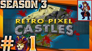 Retro-Pixel Castles Let's Play / Gameplay |  The village people | #01