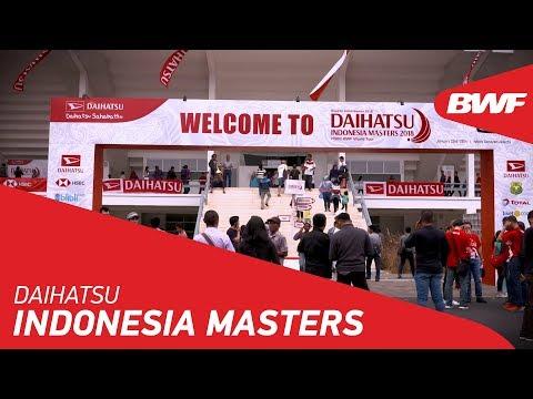 DAIHATSU Indonesia Masters   Promo   BWF 2019