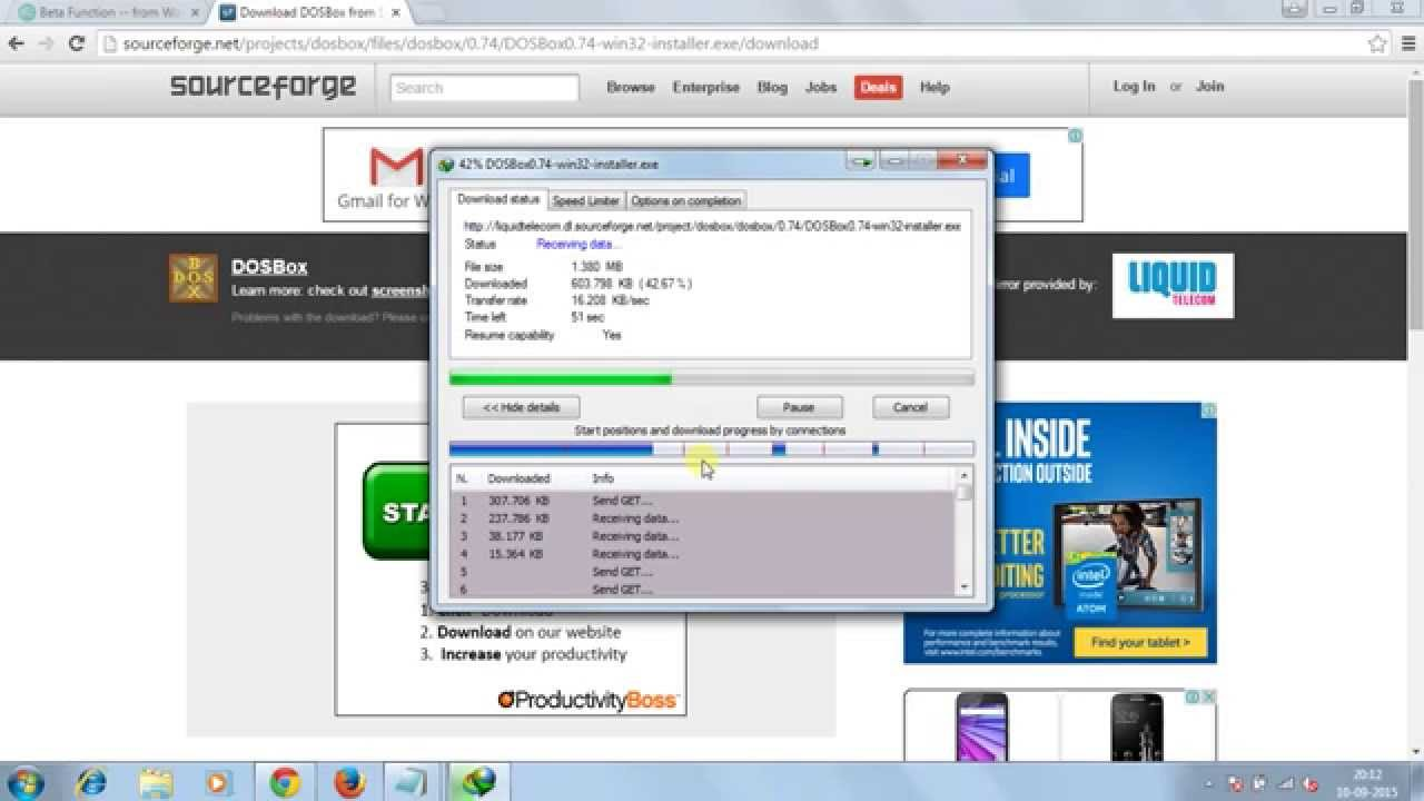 How to run Turbo C/C++ Software in Windows 10 / Windows8 / Windows7 32bit /  64bit