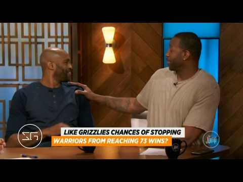 T-Mac Taunts Vince Carter About Warriors Record Game Vs Grizzlies   ESPN The Jump (2016)