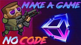 Как сделать игру  на Юнити, если не умеешь программировать #1/2 | Unity + Playmaker
