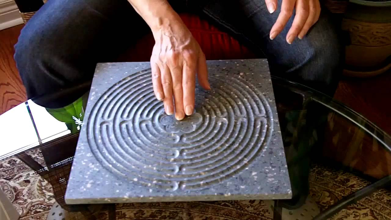 Finger Walking The Chartres Labyrinth Board Youtube Circuit Classical From A 5circuit