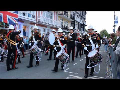 HM Royal Marines Band Collingwood - Dartmouth Regatta 2017