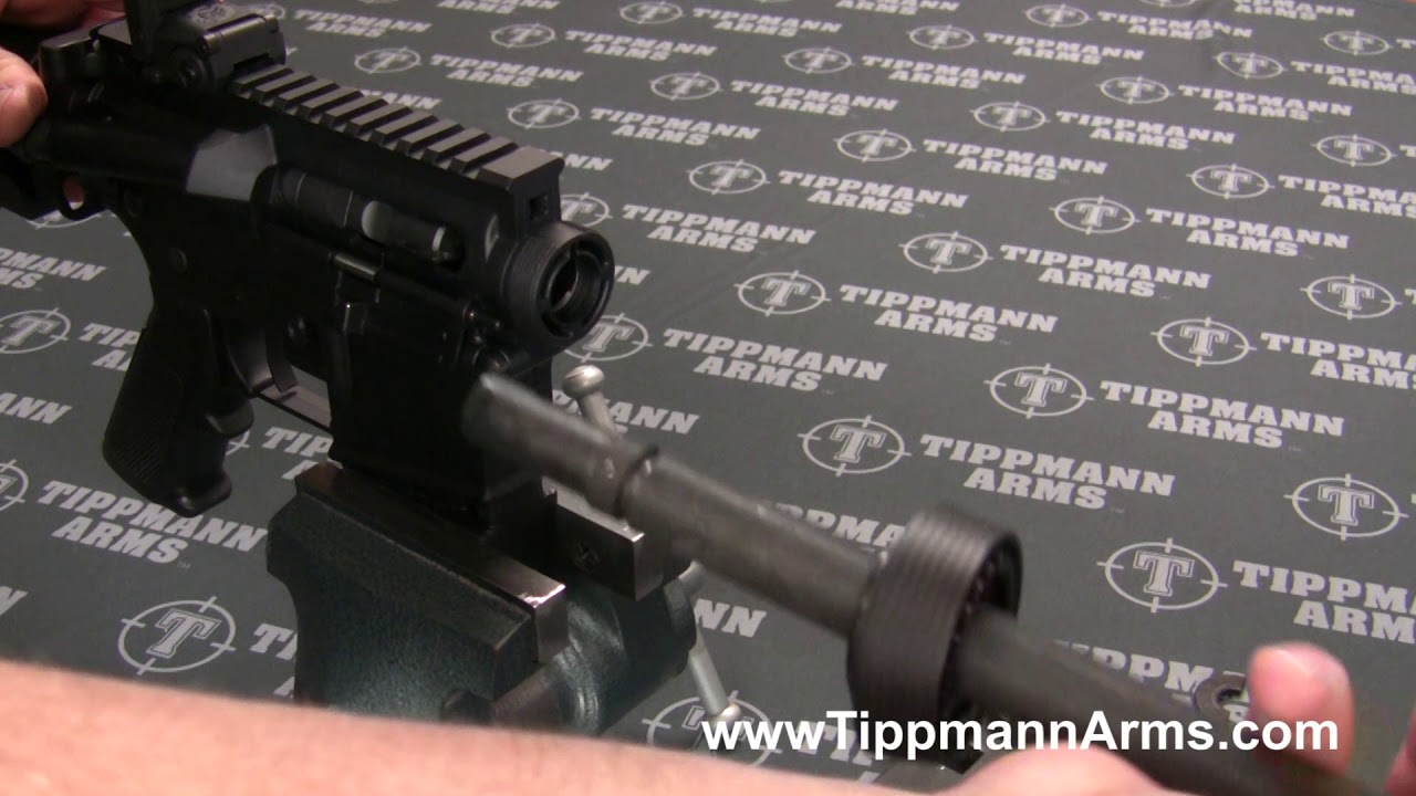 Tippmann Arms M4-22 Barrel Assembly Removal and Installation