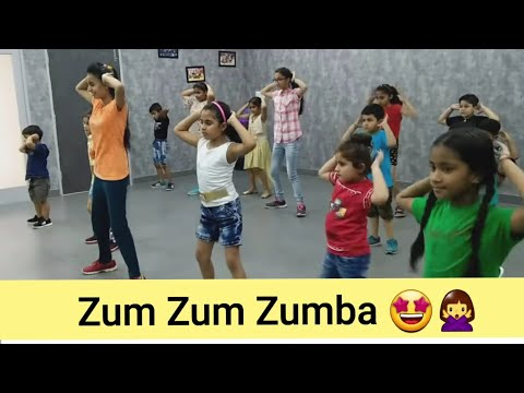 Zumba Kids😘😍 /Easy Steps For Children/ Saloni Uzinwal   #QadambyVishal