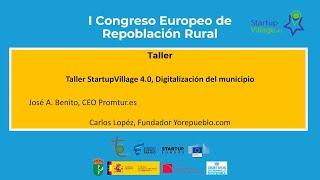 Taller StartupVillage 4.0, Digitalización del municipio