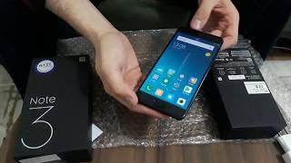 Xiaomi Mi Note 3 Kutu Açılımı ( 64 GB )