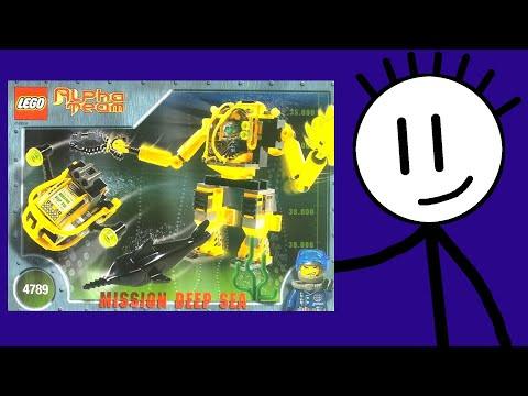 Lego Alpha Team review set 4789 AT Aquatic Mech from 2002