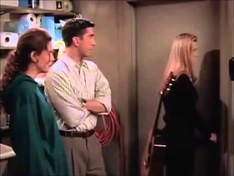 Image result for ross and phoebe get stuck before ben is born