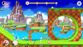 Sonic Runners Adventure (Android): Stage 1 (Homecoming) - Sonic