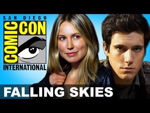 Falling Skies Season 5: Drew Roy & Sarah Carter Interview