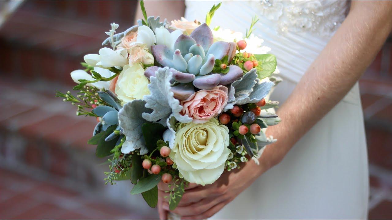 Creating My First Wedding Bouquet